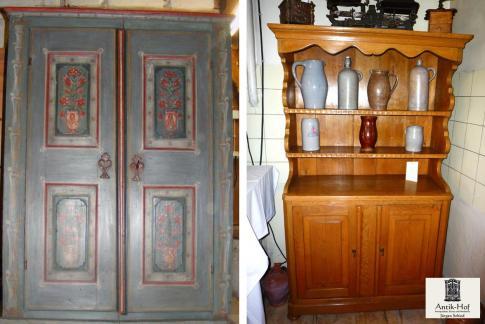 der landhausstil mit seinen antiken bauernm beln antike. Black Bedroom Furniture Sets. Home Design Ideas